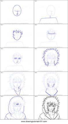 How to Draw Kiba Inuzuka from Naruto step by step printable drawing sheet to print. Learn How to Draw Kiba Inuzuka from Naruto Naruto Sketch, Naruto Drawings, Anime Sketch, Manga Tutorial, Sketches Tutorial, Naruto Shippuden Anime, Anime Naruto, How To Draw Naruto, Drawing Sheet