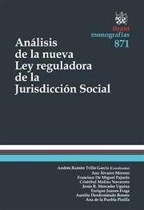 Análisis de la nueva ley de la jurisdicción social / Andrés ramón Trillo García.   Tirant lo blanch, 2014.