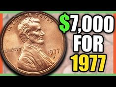 Look Out for These Rare 1977 Penny Coins ~ Video Valuable Pennies, Rare Pennies, Valuable Coins, Wheat Penny Value, Old Coins Value, Old Coins Worth Money, Coin Books, Coin Dealers, Penny Coin