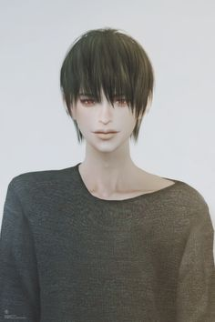 Emma's Simposium TS3 & TS4 Cemetery: TS4 Missing Content WCIF - Male-Female Hair by Bla...