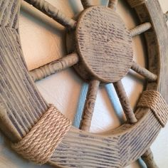 NEW to Etsy 25 Wooden Ship Wheel Guestbook door FromTheCoast2TheCity, $150.00