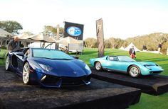 Amelia Island 2013: Lamborghini celebrates its golden anniversary