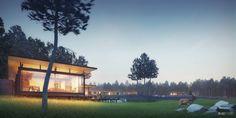 Best of Week 01/2014 - Expat Houses by A2STUDIO - Ronen Bekerman - 3D Architectural Visualization & Rendering Blog