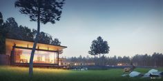 Best of Week 01/2014 - Expat Houses by A2STUDIO - Ronen Bekerman - 3D Architectural Visualization & Rendering Blog