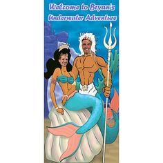 Mermaid & Neptune Photo Op