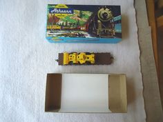 Vintage Athearn Trains In Miniature 1348 40 Ft. Flat SP With ...