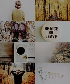 be nice or leave - hufflepuff