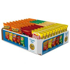 2-Pack of 50-Ct Frito-Lay Classic Mix Variety Pack $19.28 or less  free shipping @ Amazon #LavaHot http://www.lavahotdeals.com/us/cheap/2-pack-50-ct-frito-lay-classic-mix/122082