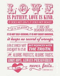 Love is... #Love #quote #bible #verse