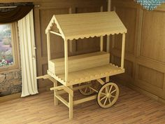 Dunster House Sophie Victorian Candy Cart Wooden Sweet Stall Wedding Christening Birthday Party Table - Ready to Paint Candy Table, Candy Buffet, Dessert Table, Candy Stand, Wooden Cart, Sweet Carts, Candy Cart, Flower Cart, Birthday Party Tables