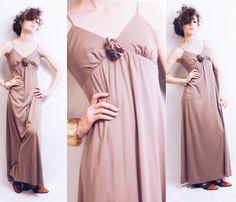 Vtg 70s does 30s Mocha Disco Dream Maxi Dress by MoveBabyVintage on Etsy https://www.etsy.com/listing/244655338/vtg-70s-does-30s-mocha-disco-dream-maxi