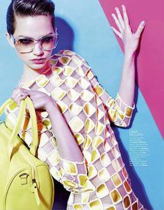 """""""Carta de colores"""" - Marie Claire Spain June 2013. Photography: Sergi Pons / Stylist: Rut Baticon"""