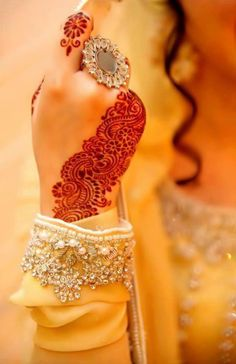 Mehndi/Henna Hand Dp for Girls for Facebook Profile
