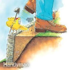 How to Build Retaining Walls Stronger.    We'll show you how to build an attractive retaining wall that's firm, solid and will stand the test of time. It features a solid base, compacted base material and good drainage. The masonry wall looks great from the front, too, and will enhance the look of your yard.  By the DIY experts of The Family Handyman Magazine