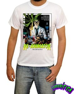 Camiseta Re-Animator  http://www.lojahorrorifica.com.br/3d408/camiseta-re-animator