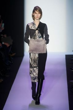 Pin for Later: Autumn in 100 Outfits: The Must-See Looks From the Major Fashion Weeks BCBG Max Azria Autumn/Winter 2014