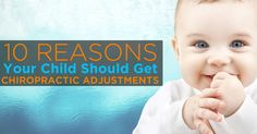 Increasingly, parents ask me why children should see a chiropractor or get chiropractic adjustments. It's a great question and the answer is simple: the Brain.  http://www.familyhealthchiropractic.com/10-reasons-children-get-chiropractic-adjustments/