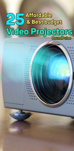 25 Cheap & Best budget Video Projectors   #projectors #video #cinema #homevideo #office