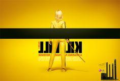 Different perspective to famous movie's posters, client: LG  http://www.pavablog.com/2012/04/26/posters-famosos-vistos-de-uma-perspectiva-diferente/#