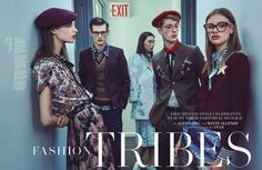 Fashion Tribes by An Le for WWD Magazine