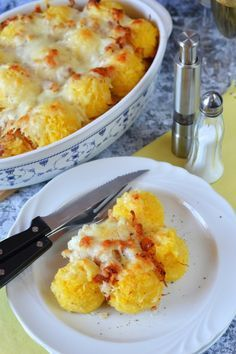Rakott puliszka recept Quiche Muffins, Macaroni And Cheese, Food And Drink, Gluten Free, Favorite Recipes, Sweets, Lunch, Salad, Meals
