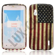 Google Nexus 4 Deksel - USA Google Nexus, Usa Flag, Shell, Phone Cases, Candy, Cover, Sweets, Blankets, Conch