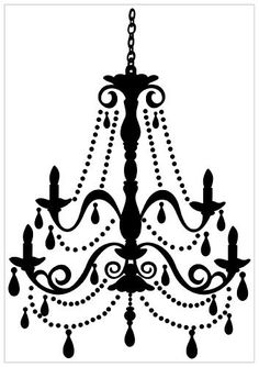 The Chandelier Peel and Stick Giant Wall Sticker looks elegant on the walls of a living room, or bedroom. Great for girls, this black chandelier wall decal makes a fun gift. Wall Stickers, Wall Decals, Wall Mural, Luminaria Diy, Stencils, Wall Appliques, Shabby, Black Chandelier, Chandelier Art