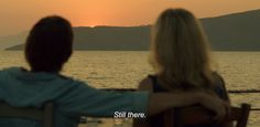Before Midnight Dir: Richard Linklater Actors: Ethan Hawke & Julie Delpy DoP: Christos Voudouris Year: 2013 Before Sunset Quotes, Midnight Quotes, Before Sunrise Trilogy, Before Trilogy, Best Movie Lines, Julie Delpy, Surreal Photos, Lights Camera Action, In And Out Movie