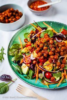 Rauchiger Ponderosa BBQ-Salat. Da werden selbst Nicht-Veganer schwach #vegan  GourmetGuerilla.de