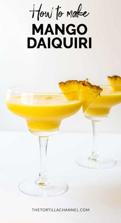 The best mango daiquiri cocktail for you