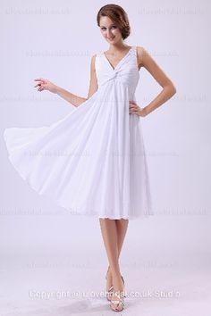 Short Wedding Dresses Empire Waist