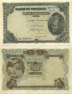 Portugal 2500 Reis 30.6.1909 (Aff. de Albuquerque, Mercury)