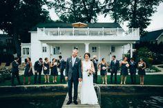 Wedding party photo | Dan & Carrie Bay Pointe Inn Wedding | Rhino Media Weddings | Wedding video and photography http://www.rhinomediaweddings.com/blog/2015/9/8/dan-carrie-wedding-preview