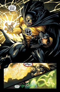 Although it was short, MAN was it sweet Batman the Yellow Lantern (Forever Evil #4) - Imgur