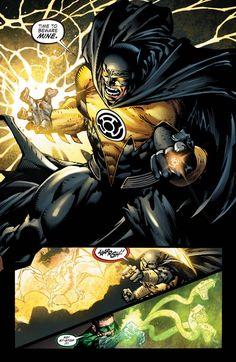 Batman the Yellow Lantern