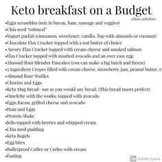 """""""Don't know how to start keto diet? Lose several lbs with keto lifestyle in first week? Click my link to learn how"""" Nutritional Value Of Food, Keto Macros Calculator, Breakfast On A Budget, Keto Diet Side Effects, Low Carb Vegetables, Keto Food List, High Fat Diet, Keto Diet For Beginners, Keto Meal Plan"""