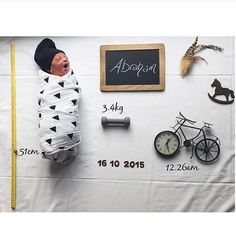 """""""BABY BOY / / Cute birth announcement from one of our lovely followers, new mama @mrsporshashakoor congratulations, thanks for sharing. ✔️ #rg @mrsporshashakoor #birthannouncement #babynews #newbaby #birthnews #newborn #newbornphotography #babyboy #stylishbump #stylishmama #itsaboy #babyannouncement"""" Photo taken by @stylish_bump on Instagram, pinned via the InstaPin iOS App! http://www.instapinapp.com (11/01/2015)"""