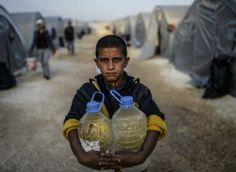 Syrian Children Water