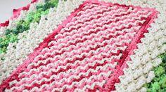 Crochetando com EuroRoma e Sandra Brum - Ponto Escadinha
