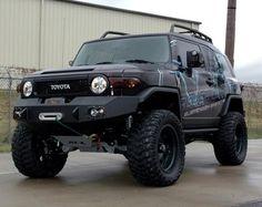 Toyota 4x4, Toyota Trucks, Toyota Fj Cruiser, Land Cruiser, Toys For Boys, Boy Toys, Offroad, Monster Trucks, Black Cars