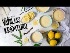 A vaníliás krémtúró igazi retro kedvenc. Bár mára megváltozott már a vaníliás krémtúró, házilag egy jó recepttel nagyon finom készíthető. Cantaloupe, Fruit, Breakfast, Sweet, Food, Youtube, Morning Coffee, Candy, Essen