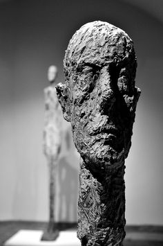 Monumental Head by Alberto Giacometti