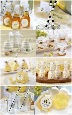 Bee Baby Shower Party Favors from HotRef.com #bee #babyshower #partyfavors