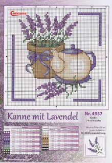 Kanaviçe Şemaları: Çiçekli Etamin Modelleri