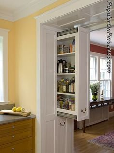 kitchen pantry. good use of space