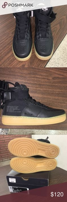 906832166e5a Women s SF AF 1 Mid Sneaker Black   Gum Bottoms ITEM  CONDITION  Brand New