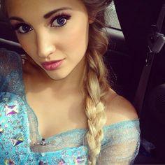 Real life Queen Elsa