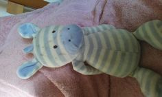 Found at Dunchurch Road Rugby on 20 Jun. 2016 by Alex: Found in car park in woods opposite Sainsbury. Stripy horse or zebra. Bit damp and muddy and would li Lost & Found, Car Park, Pet Toys, Rugby, Jun, Woods, Dinosaur Stuffed Animal, Horse, Teddy Bear