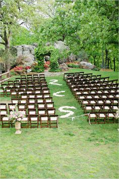 Ever wonder how to keep guests off the aisle? And also a more economical way to use rose petal on your aisle!