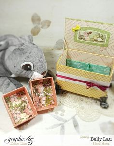 Peter Rabbit Cake Music Box - Graphic 45 - Once Upon a Springtime - Belly Lau - Papercraft Buffet - Tutorial - Photo 1